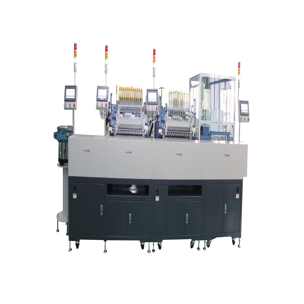 ModelER3712 Automatic production line for EE transformer