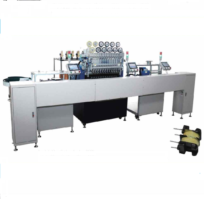 ModelER5012 Full Automatic Production Line For Wave Filter Customized